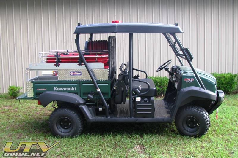 Barnwell County Kawasaki Mule 4010 Trans 4x4 - UTV Guide