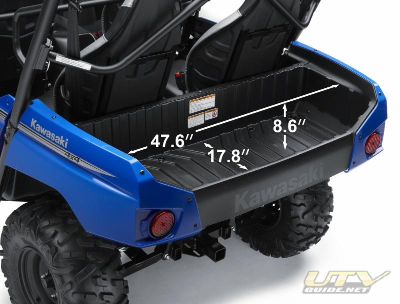 Kawasaki Teryx4 750 4x4 Cargo Bed