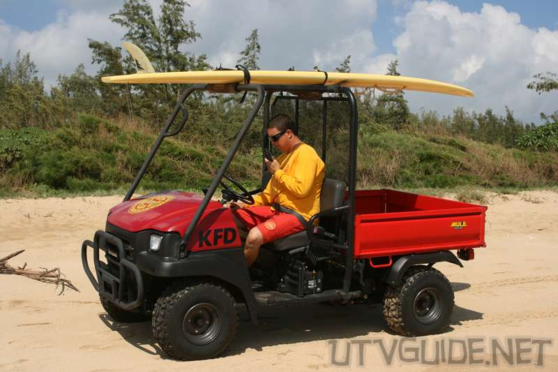 Kawasaki Mule - Lifeguard Vehicle on Kauai