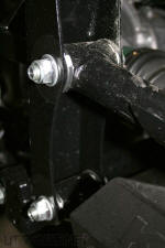 Kawasaki Teryx - A-Arm Mounts are very stout