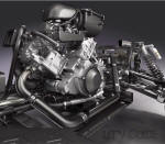 Engine: 749cc,  Liquid-cooled, 90-degree, four-stroke V-twin