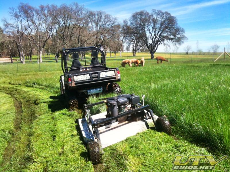 Towable Rough Cut Field Mower