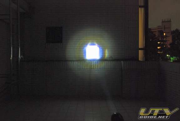 LED Flashlight Test
