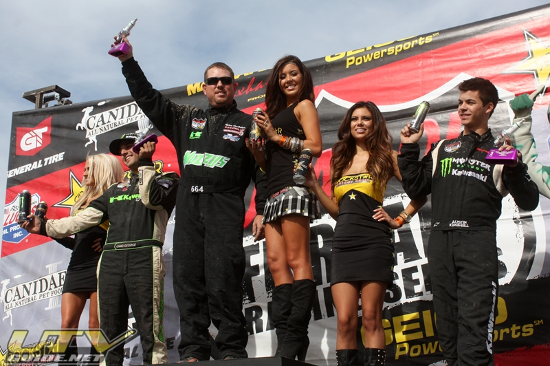 Lucas Oil Off-Road Racing Series - Unlimited UTV Podium