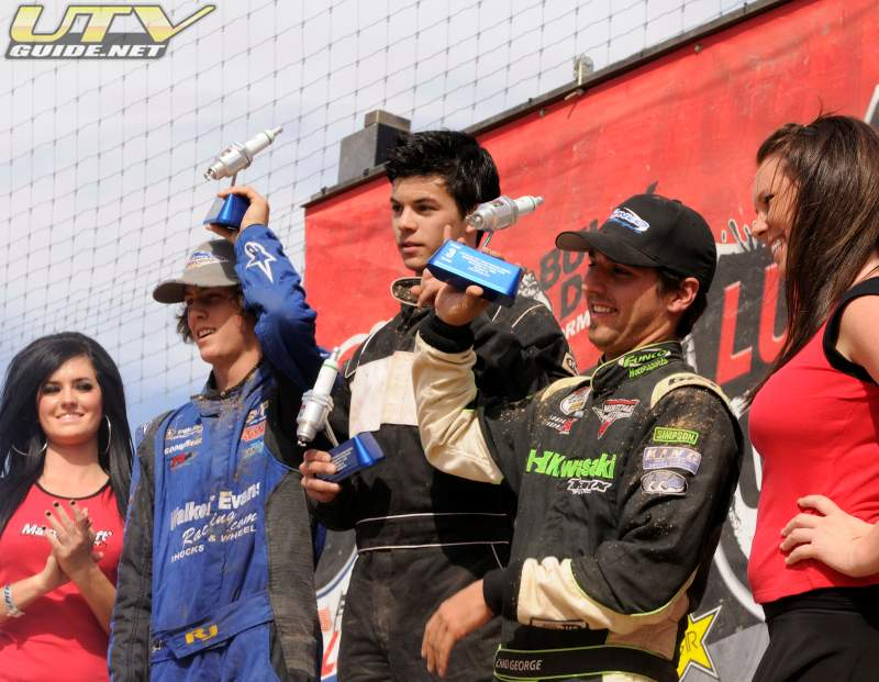 Lucas Oil Off-Road Racing Series Speedworld UTV Podium