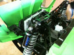 "2011 Kawasaki Teryx with Lonestar +5"" XTR-F suspension kit and Fox DSC shocks"