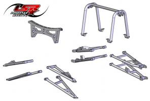 "Lonestar +5"" XTR-F suspension kit"