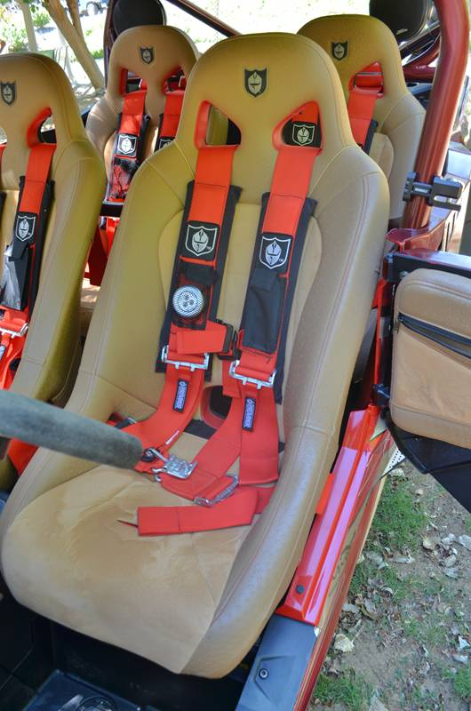 Pro Armor Seats, Harnesses and Door Bags