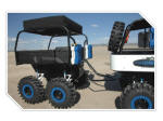Marshall Motoart Spider Monkey - Polaris Ranger 6x6