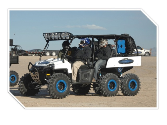 moto art. marshall motoart spider monkey - polaris ranger 6x6 moto art