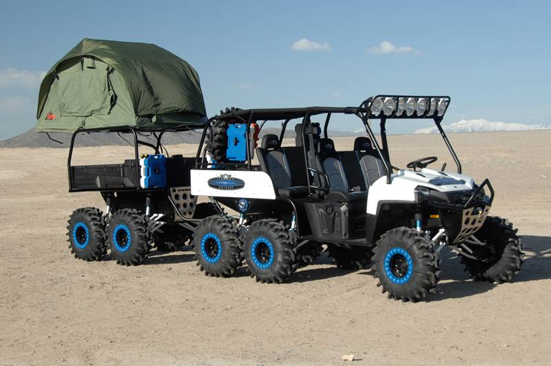 Polaris Ranger 6x6 Spider Monkey