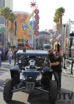 The Mint 400, Freemonth Street - Arctic Cat Wildcat - Burt Jenner