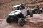 HCR Polaris RZR XP on Cliff Hanger Trail, Moab