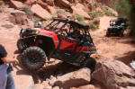 Pro Armor's Polaris RZR XP on Cliff Hanger Trail, Moab