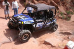 Pro Armor's Polaris RZR 4 on Cliff Hanger Trail, Moab