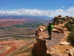 Moab, Poison Spider Mesa and Golden Spike
