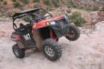 Polaris RZR XP on Steel Bender Trail, Moab, UT