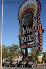 Buffalo Bill's in Primm Nevada