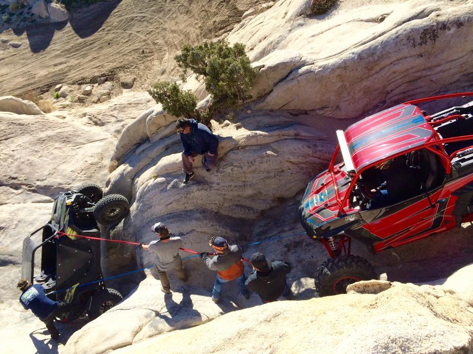 Winching at Moon Rocks, Nevada