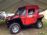 Enclosed Cab on Can-Am Commander at 2012 Mud Nationals