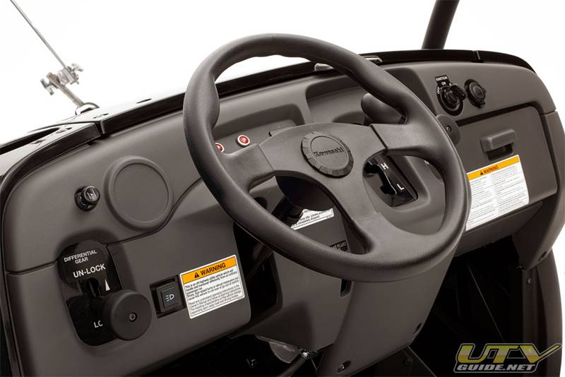 Mule Xc Sporty Steering Wheel on Kawasaki Mule Side By