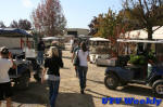 Golf Carts at the Murieta Equestrian Center Horse Show