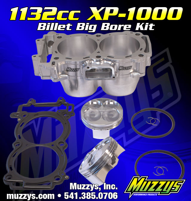 Muzzys Performance 1132cc RZR XP1000