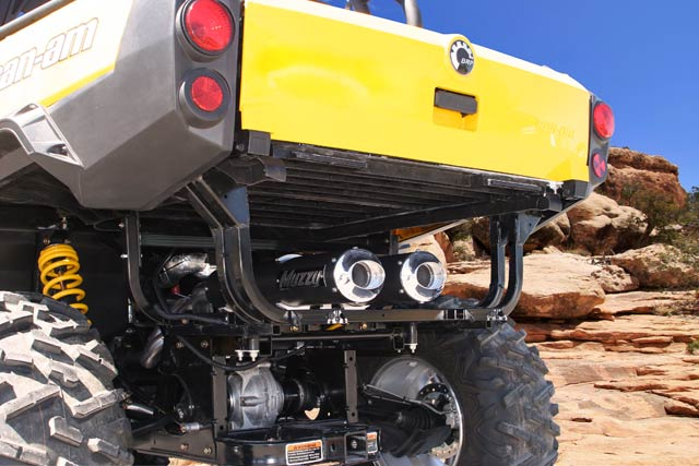 Can-Am Commander 1000 Dual Exhaust