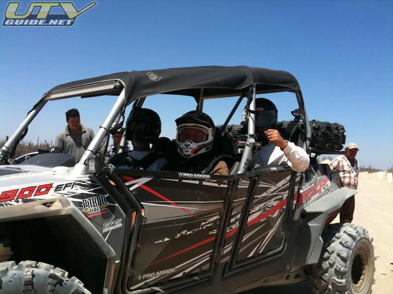 Polaris RZR XP 4 during NORRA Mexican 1000