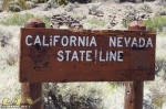 California - Nevada State Line
