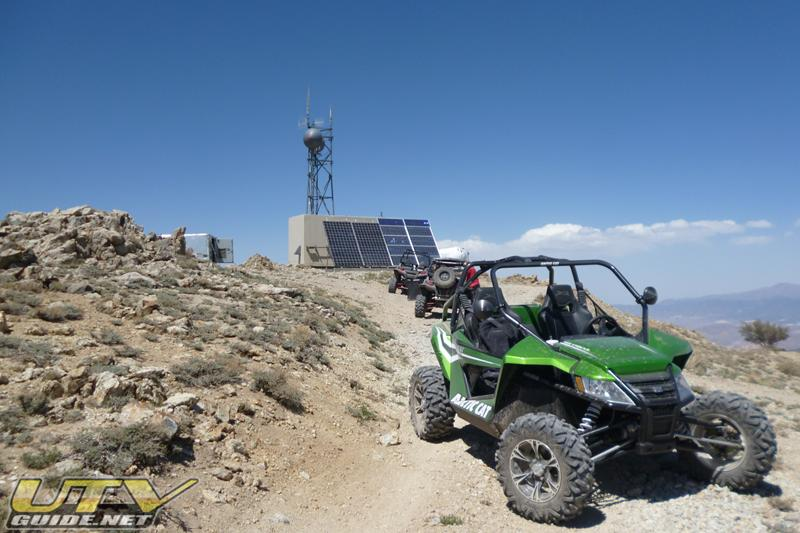 Arctic Cat Wildcat on top of Masonic Mountain