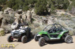 Arctic Cat Wildcat near Lower Town - Humboldt-Toiyabe National Forest