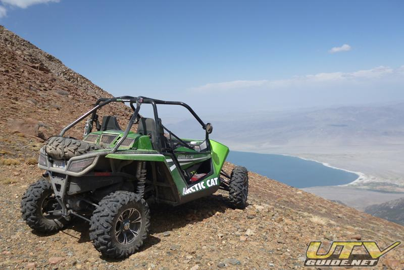 Arctic Cat Wildcat on top of Mt. Grant Nevada