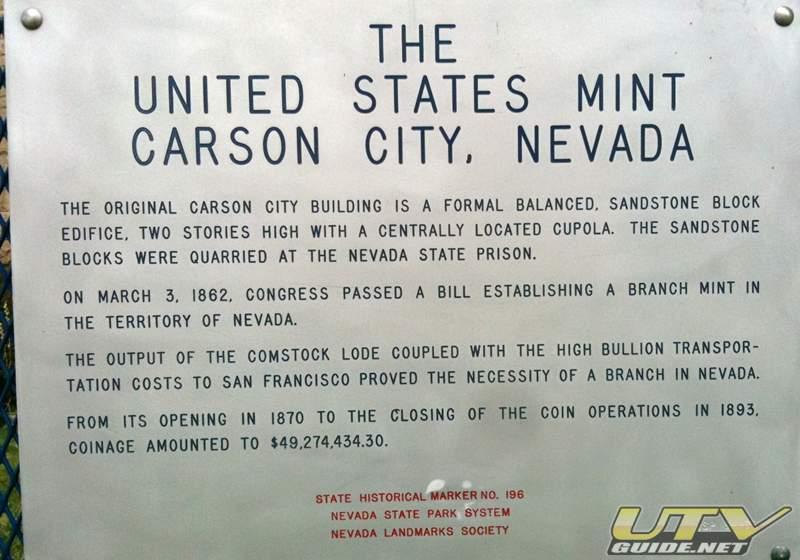 Carson City Mint Tour