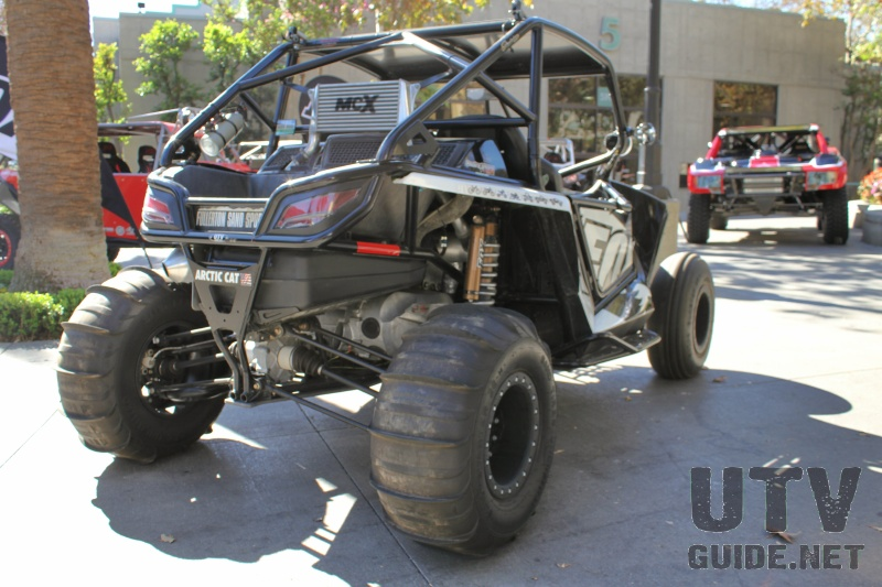 Turbocharged Arctic Cat Wildcat