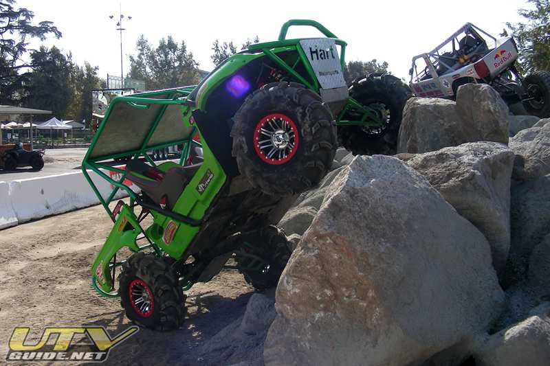 Hart's Rhino Motorsports - Rock Crawling at the Off-Road Expo