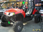 Polaris RZR with Billet Long Travel Suspension