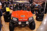 Polaris RZR with Pit Bull Tires