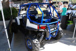 Polaris RZR with Gibson Exhaust