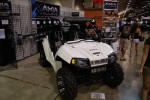 Polaris RZR with Axia Alloys Billet Mirrors