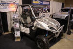 Kawaski Teryx with SSV Works Audio System
