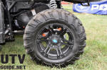 Black aluminum wheels for the RANGER XP 900