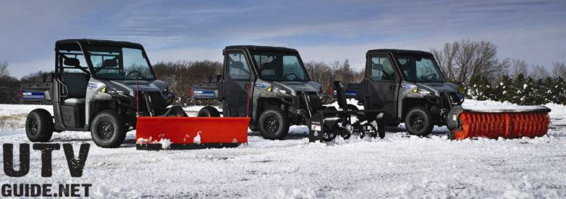 Polaris BRUTUS Family or commercial-grade vehicles