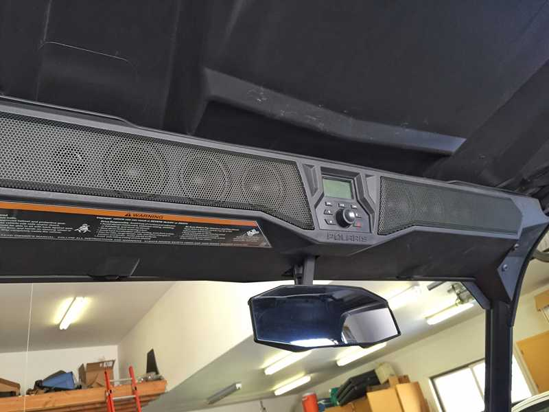 POLARIS GENERAL MTX PREMIUM SOUNDBAR