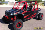 Two Seat Polaris RZR 4 Roll Cage