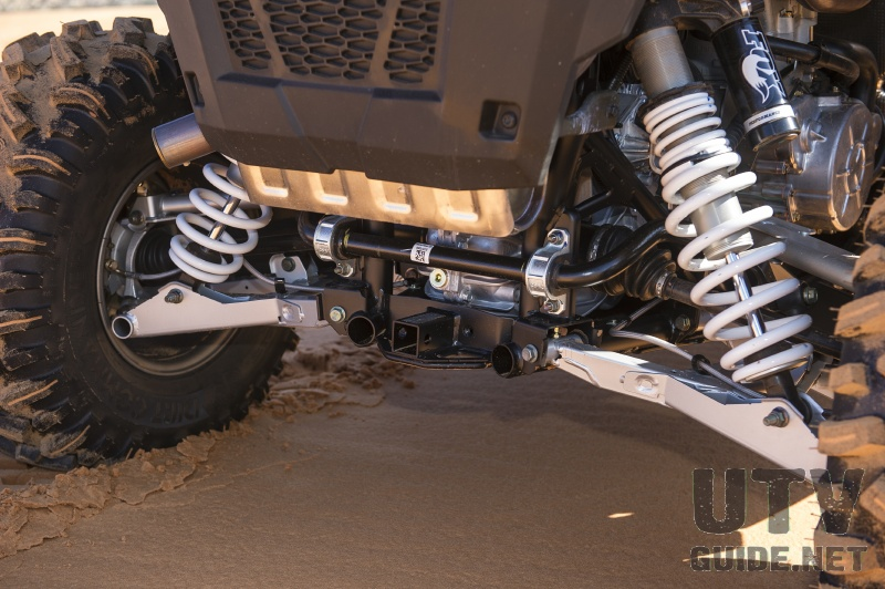 Polaris RZR S 900 rear suspension