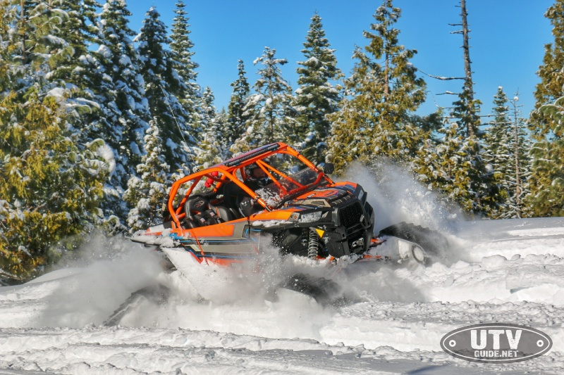 Polaris RZR XP Turbo on Tracks