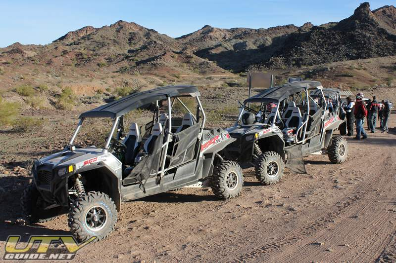 Polaris RZR XP 4 press ride