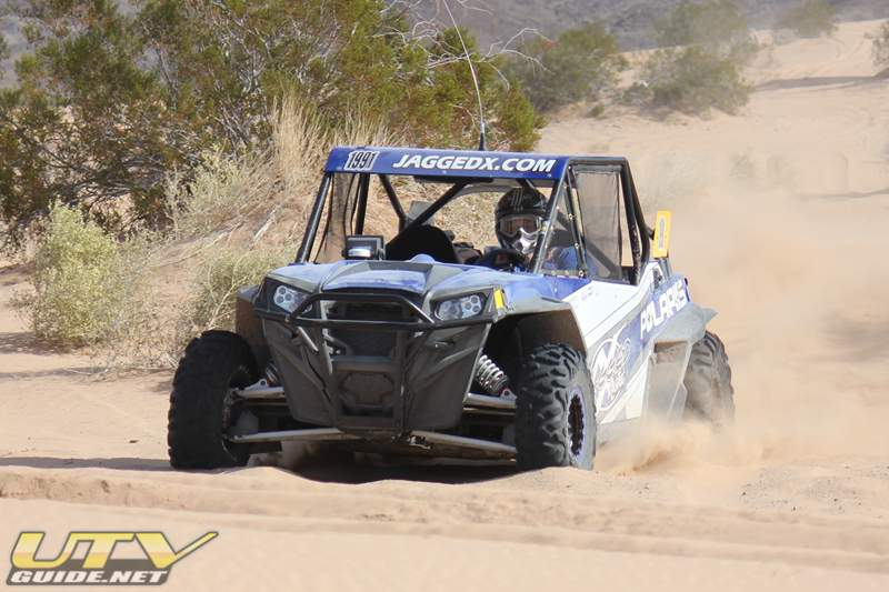 Jagged X Polaris RZR XP 4 BITD race car