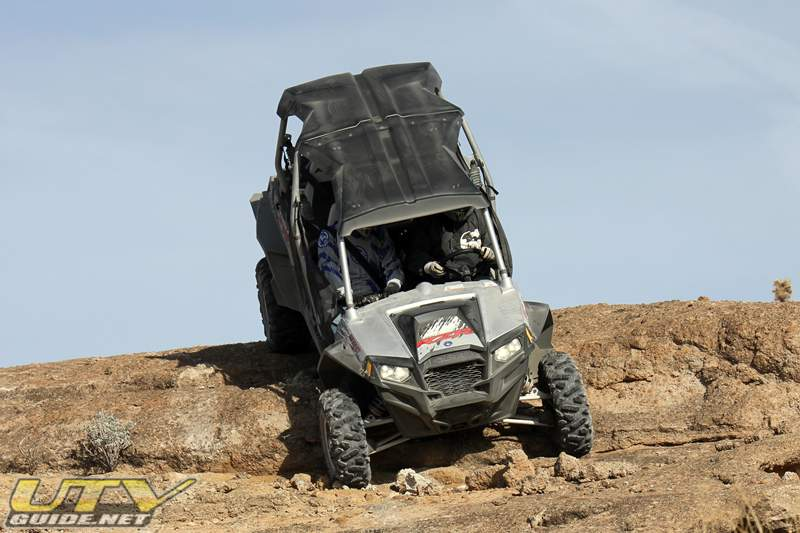 Rock crawling with a Polaris RZR XP 4